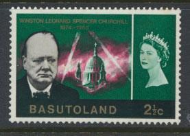 Basutoland  SG 103  Mint Hinged  Churchill