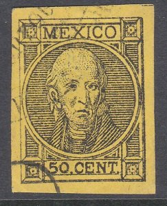 MEXICO  An old forgery of a classic stamp ..................................C818