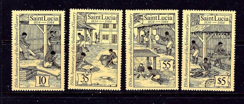 St Lucia 706-09 MNH 1984 complete set