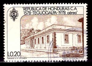 Honduras  Scott C654 Used airmail