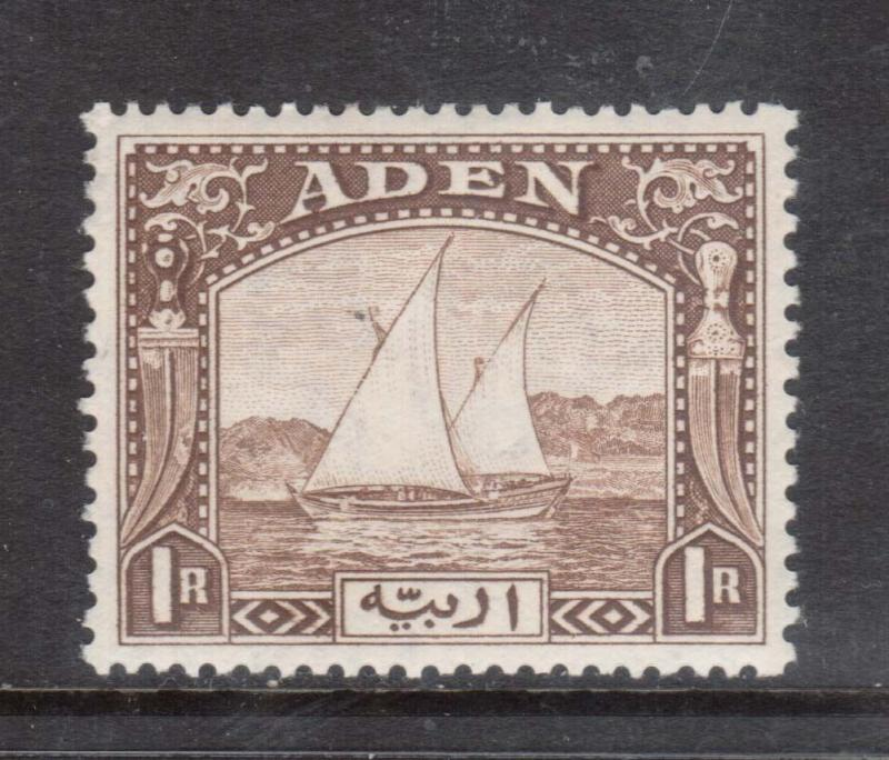 Aden #9 VF Mint