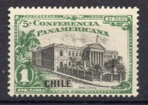 Chile 1923 Pan America Issue Mint hinged Shade of 1P. NW-13106