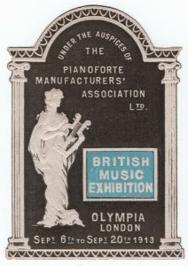 (I.B) Cinderella : British Music Exhibition (Olympia 1913)