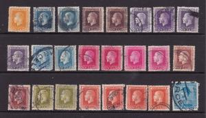 New Zealand a selection of unsorted KGV recess deffs