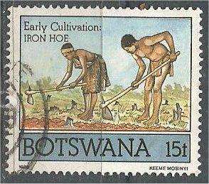 BOTSWANA, 1988, used 15t, Cultivation, Scott 429