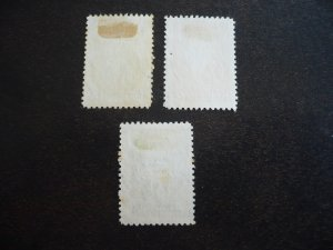Stamps - Cuba - Scott# 438-440 - Used Set of 3 Stamps