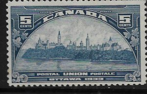 CANADA, 202, HINGED, GOVERNMENT BUILDINGS, OTTAWA