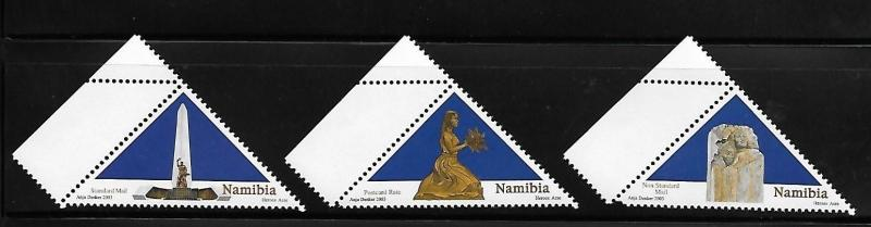 Namibia 2003 Heroes Ace Monuments Triangle Stamp MNH A632