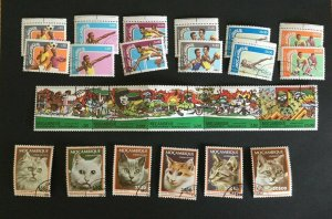 Mozambique Sc# 607-612 (2 sets), 618-623 and 941a (Strip of 5) CTO Never Hinged