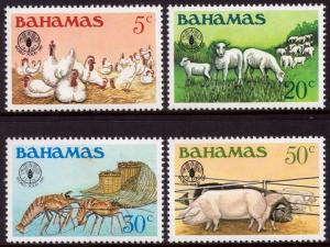 Bahamas 1981 World Food Day Set of 4 SG598-601 MNH Please read description.