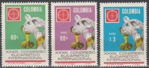 Colombia #776, C500-01 MNH (K2L)