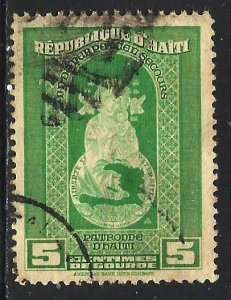 Haiti 1942 Scott# 341 Used