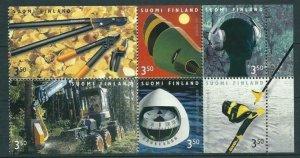 Finland 1999 #1116 MNH. Design, booklet pane