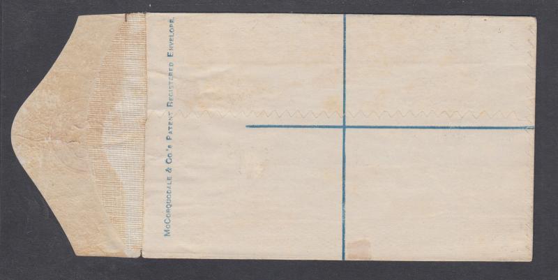 Ceylon H&G C1, mint. 1880 12c pink QV Registration Envelope
