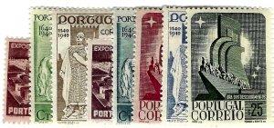 Portugal SC#587-594 Mint F-VF SCV$30.00...Worth a Close Look!