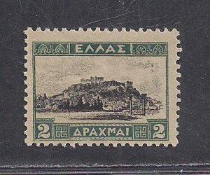 GREECE SC# 329  F/MOG  1927