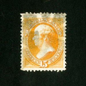 US Stamps # 163 XF Huge w/ light cancel Scott Value $150.00