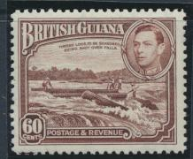 British Guiana SG 315  perf 12½ Mint Hinged (Sc# 237 see details)