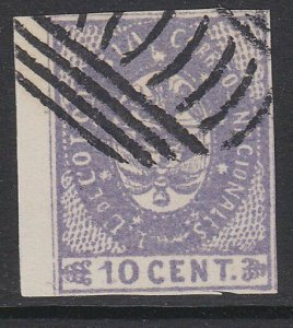 COLOMBIA  An old forgery of a classic stamp.................................D726