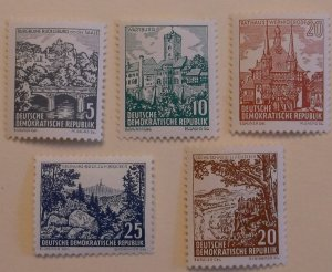 Germany East 535-9 MNH Architecture Topical,