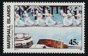 Marshall Islands 241 MNH WWII, Invasion of Finland, Tank