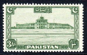 PAKISTAN - 1948 -57   SG 31- 3 anna - p14   vlmm  cv £ 7.50