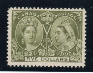 Canada #65 Extra Fine Never Hinged Gem **With Certificate**