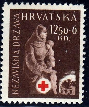 Croatia #B49 Mother and Children, unused. HM