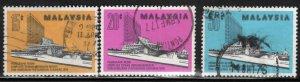 Malaysia Scott 144-146 Used set