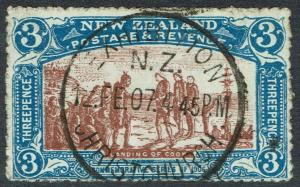 NEW ZEALAND 1906 CHRISTCHURCH EXHIBITION 3D USED