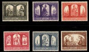 Vatican City - #433 - 438 King Mieszko set/6 - MNH