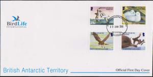 British Antarctic Territory Scott 345-348 Unaddressed.