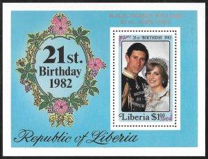 Liberia Mint Never Hinged ~ Souvenir Sheet ~ [9201]