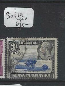 KENYA, UGANDA, TANGANYIKA   (PP0106B)  KGV   3/-   SG 119    VFU