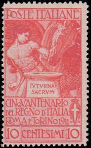 Italy #119-121, Incomplete Set, Short Set, Hinged