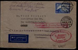 Germany Catapult cover 13.8.29 Potsdam