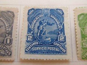 Honduras 1892 2c fine mng stamp A11P11F8