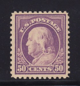 517 VF-XF original gum never hinged with nice color cv $ 110 ! see pic !