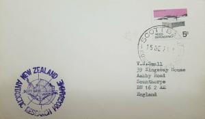 L) 1974 ROSS DEPENDENCY, ANTARCTIC, SHACKLETON'S HUT, 5C, SCOTT BASE, VANDA