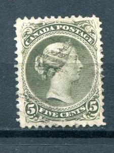 Canada #26iv  perf 113/4x12  Used VF