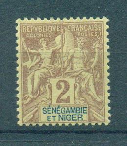 Senegambia & Niger sc# 2 mh cat value $2.10