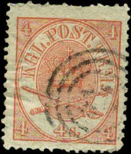 Denmark Scott #13 Used