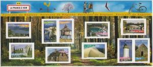 France stamp French provinces (VI) minisheet MNH 2005 Mi 3972-3981 WS168036