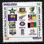Bangladesh 2010 ICC (Cricket 20-20 ) 15r with shift of ye...