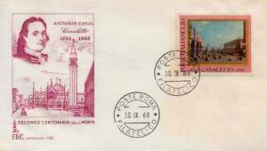 Italy, First Day Cover