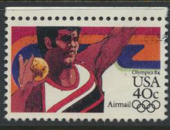 USA Used  SC# C105  Airmail  Olympics see details