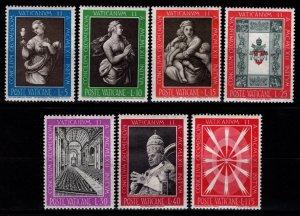 Vatican City 1962 Ecumenical Council, Part Set (excl. 60l) [Unused]