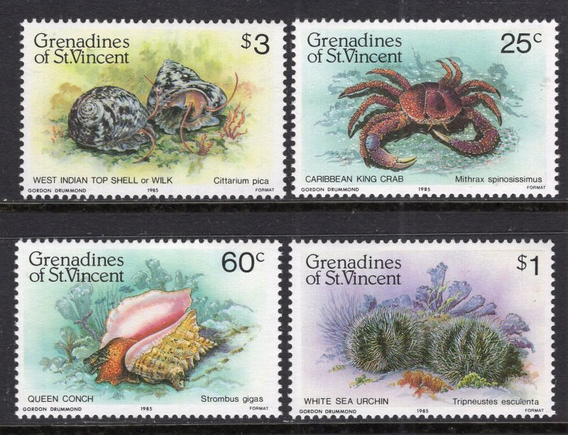 St. Vincent Grenadines MNH 472-5 Marine Life 19081