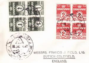 Denmark: 1962, YWCA Guide Camp at Viborg (Greasy Issue) (BSA786)