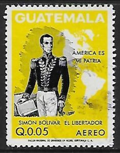 Guatemala # C506 - Simon Bolivar - used   -{BRN17}
